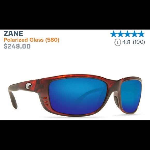 """da96a0983e Costa Other - Costa Del Mar Sunglasses """"Zane"""" 580G"""